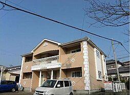 宮崎県宮崎市城ケ崎2丁目の賃貸アパートの外観
