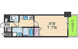 アーバンパーク梅田イースト[3階]の間取り