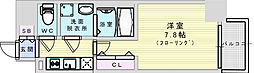 JR東海道・山陽本線 新大阪駅 徒歩5分の賃貸マンション 12階1Kの間取り