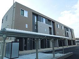 愛媛県松山市松末2丁目の賃貸アパートの外観