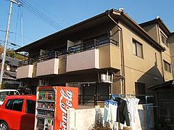 京都府京都市伏見区小栗栖小阪町の賃貸マンションの外観