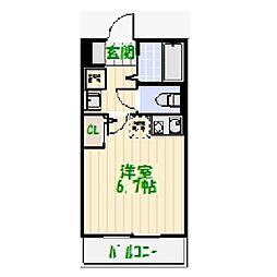仮称足立区加平3丁目新築AP[0104号室]の間取り