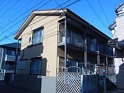東京都練馬区西大泉4丁目の賃貸アパートの外観