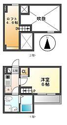 REVE鶴舞(レーヴ)[2階]の間取り