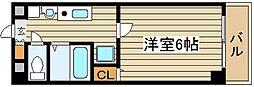 グランパシフィック十三[2階]の間取り