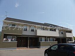 香川県高松市御厩町の賃貸アパートの外観