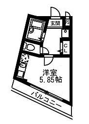 fossette(フォセット)[2階]の間取り
