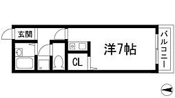シャルム豊島[3階]の間取り