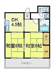 沼田ビル[4階]の間取り