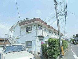 岡山県岡山市北区庭瀬の賃貸アパートの外観