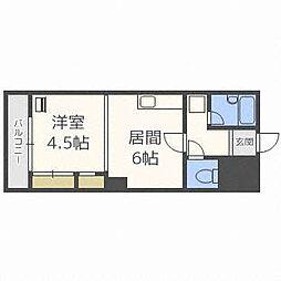 第53松井ビル[6階]の間取り