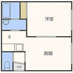 Platz澄川[2階]の間取り