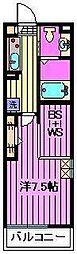 ベルビュー[2階]の間取り