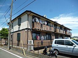 東京都国分寺市北町4丁目の賃貸アパートの外観