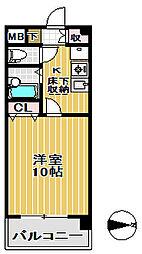上杉五番館[2階]の間取り