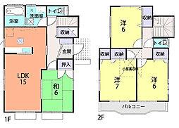 江戸川台駅 2,460万円