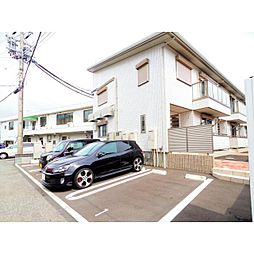 静岡県静岡市葵区東千代田の賃貸アパートの外観