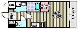 アウローラ富士[1階]の間取り