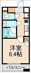 タワービューレジデンス吾妻橋[505号室]の間取り