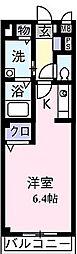 ヴィラアスリート[        2階号室]の間取り