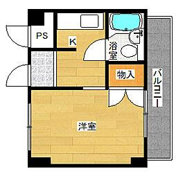 ネオパレス浅川2号館[2階]の間取り