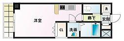ノルデンタワー新大阪[5階]の間取り
