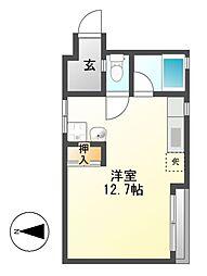 HP黄金通ビル[3階]の間取り