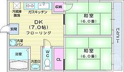 宮城野通駅 6.5万円