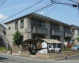 埼玉県蕨市錦町2丁目の賃貸アパートの外観