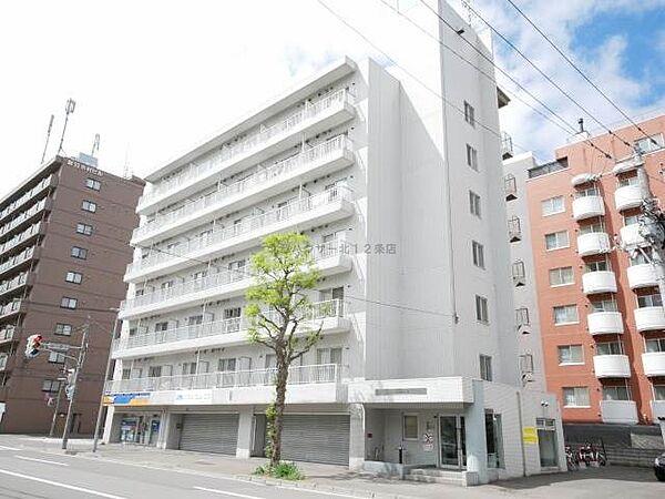 ドエル札幌北11条[7階]の外観
