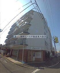 大阪府東大阪市長田3丁目の賃貸マンションの外観