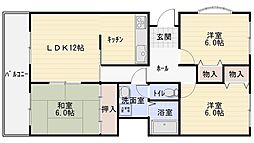 曙フラッツ[4階]の間取り