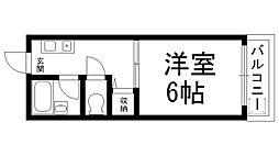 ロータリーM出口[0606号室]の間取り
