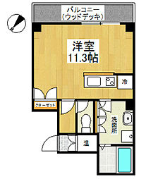 LEON-K[10階]の間取り