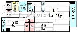 ロイヤルカーサ江坂東[5階]の間取り