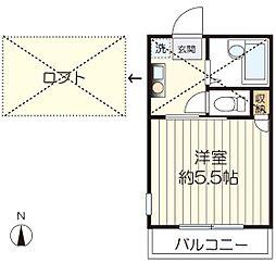 マ・ピエス生田5[103号室]の間取り