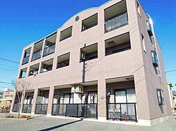 茨城県龍ケ崎市川崎町の賃貸マンションの外観