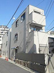 東京都荒川区東日暮里4丁目の賃貸アパートの外観