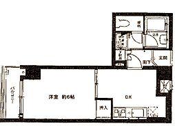 セザール妙蓮寺[302号室]の間取り
