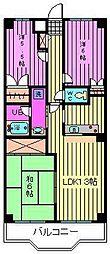 アクロ・プレステージ2[3階]の間取り