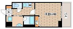 兵庫県神戸市東灘区住吉本町2丁目の賃貸マンションの間取り