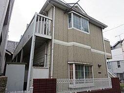 東京都品川区北品川2丁目の賃貸アパートの外観