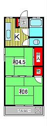 第一千葉マンション[2階]の間取り