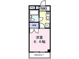 ファミニーナタマ3[2階]の間取り