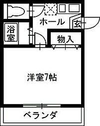 遠山ハイツIII[201号室]の間取り