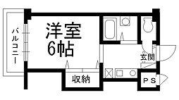 スタジオM[0515号室]の間取り