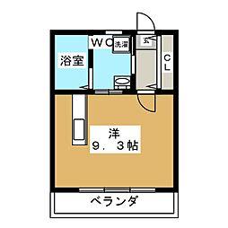 OHANA248[4階]の間取り