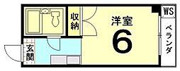 吉田マンション[405号室]の間取り