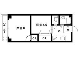 サンシャインマンション[301号室]の間取り
