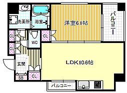 KHE[9階]の間取り